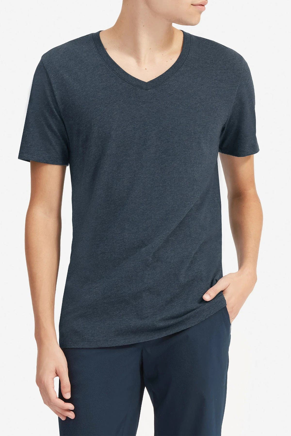 Image of EVERLANE The Cotton V-Neck T-Shirt