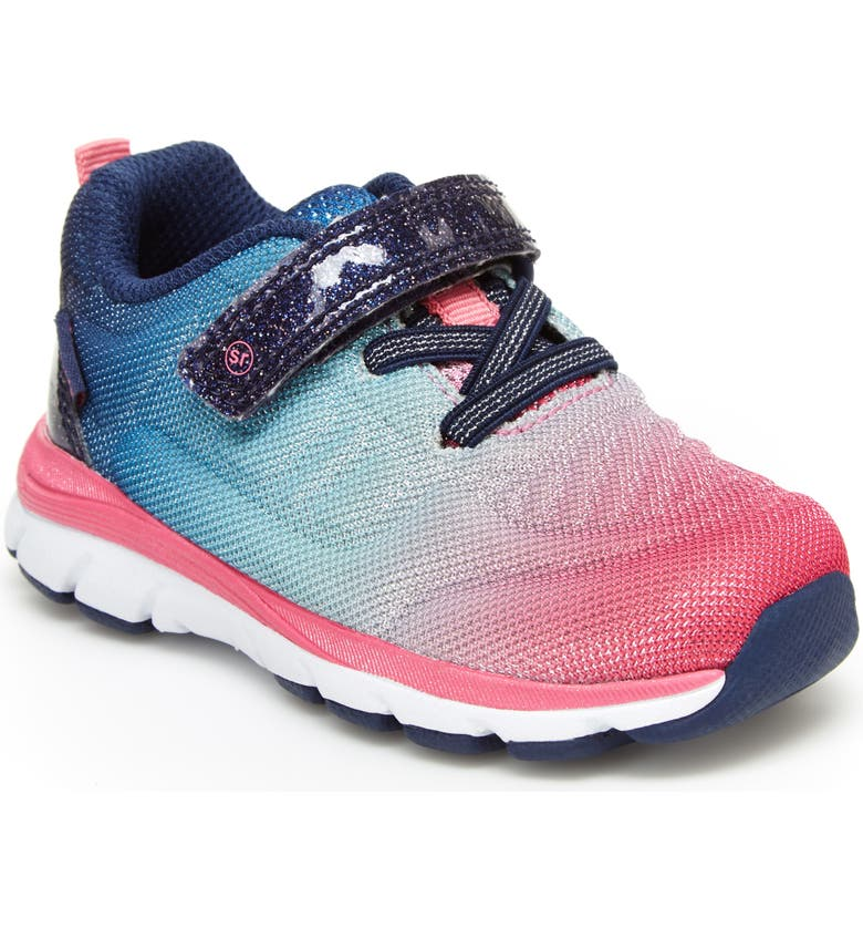 STRIDE RITE Made2Play<sup>®</sup> Cora Sparkle Sneaker, Main, color, NAVY MULTI