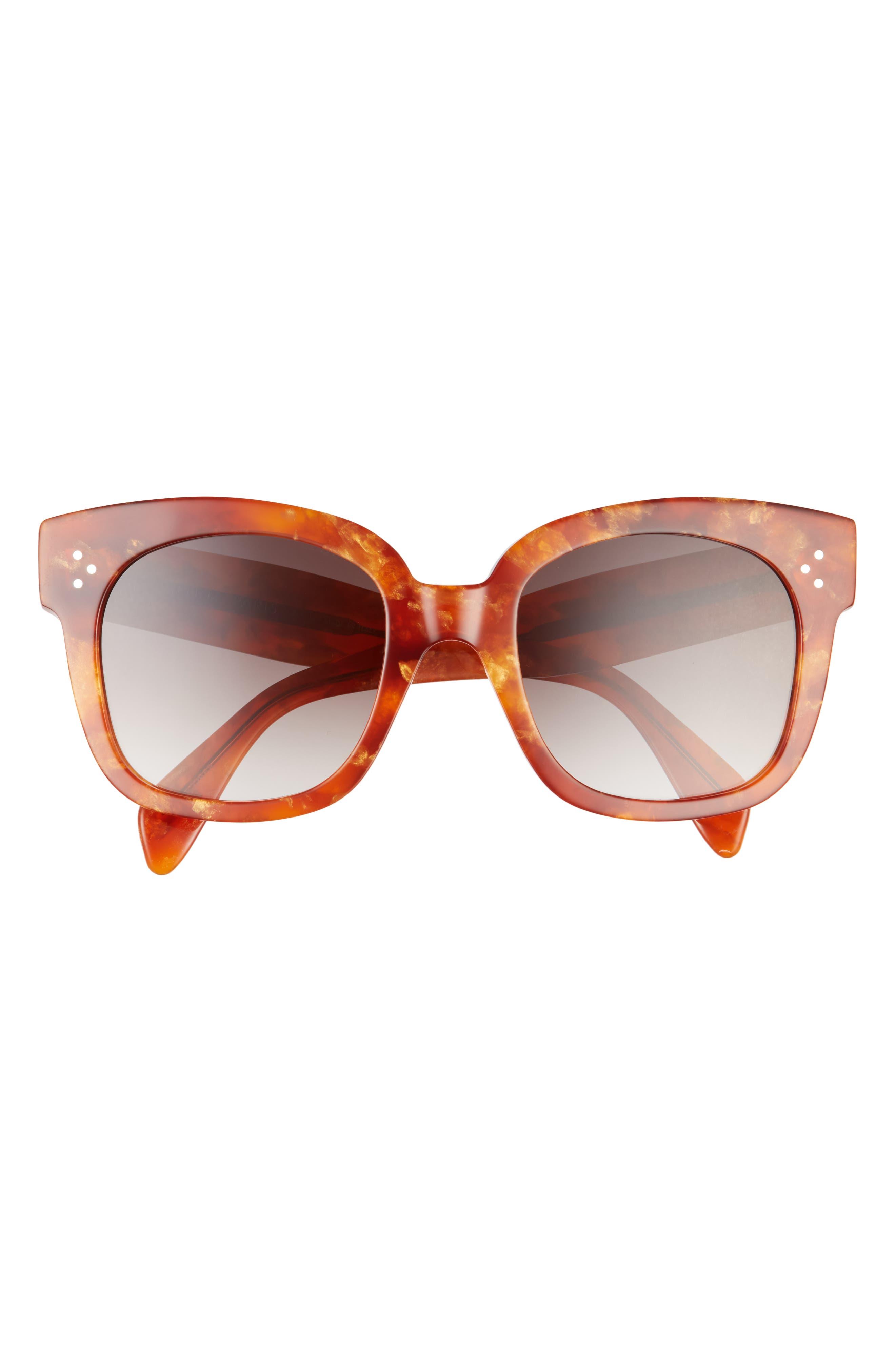 54mm Gradient Round Sunglasses