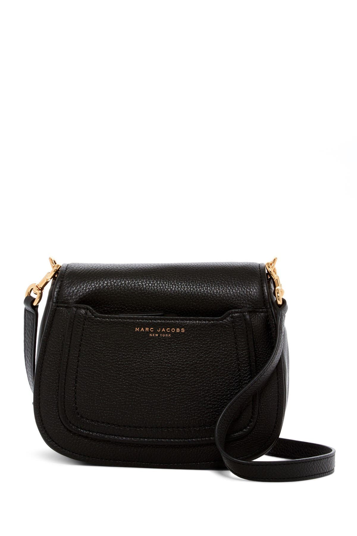Image of Marc Jacobs Empire City Mini Messenger Leather Crossbody Bag