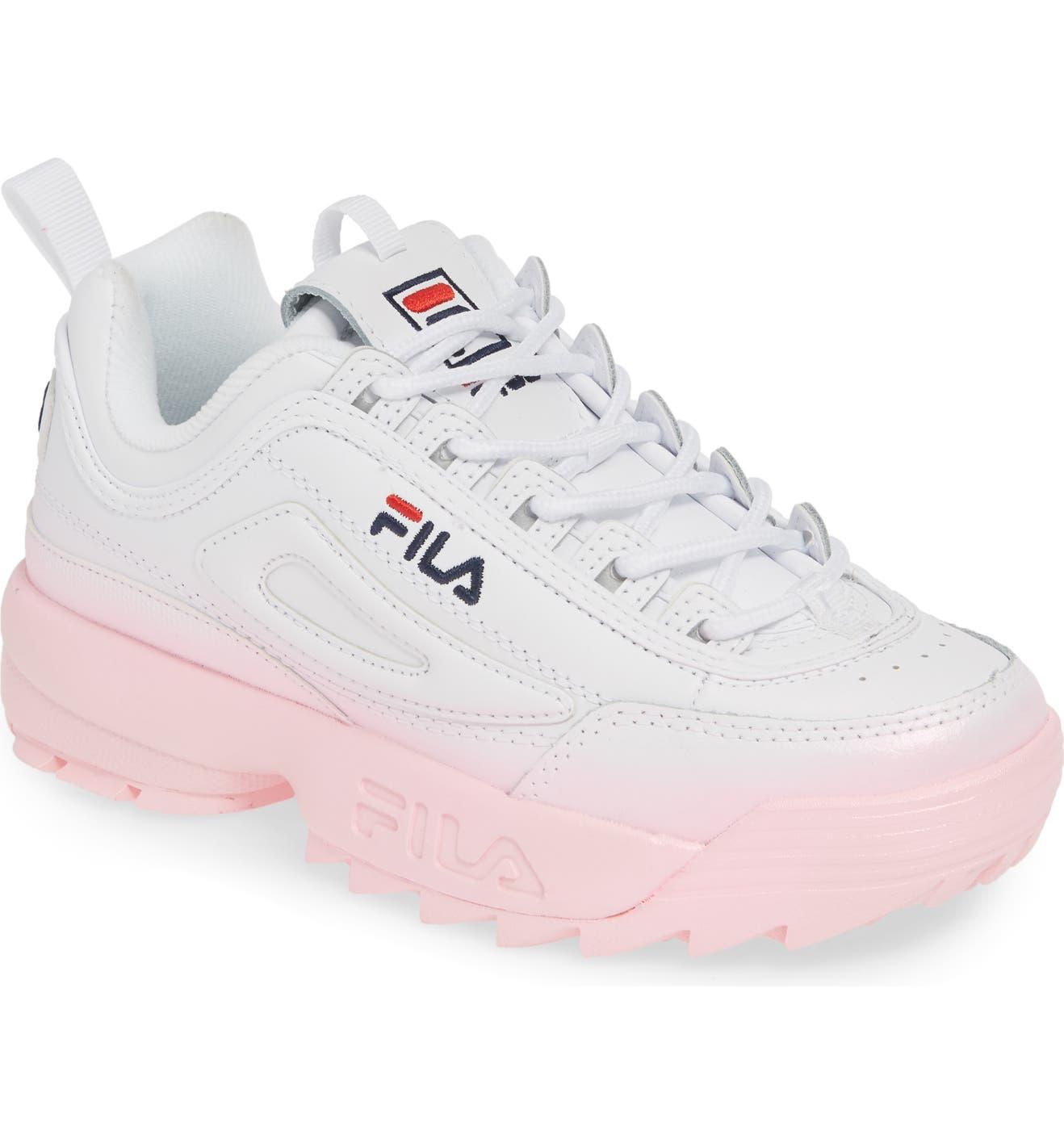 b25e464754 FILA Disruptor II Premium Fade Sneaker (Women)   Nordstrom