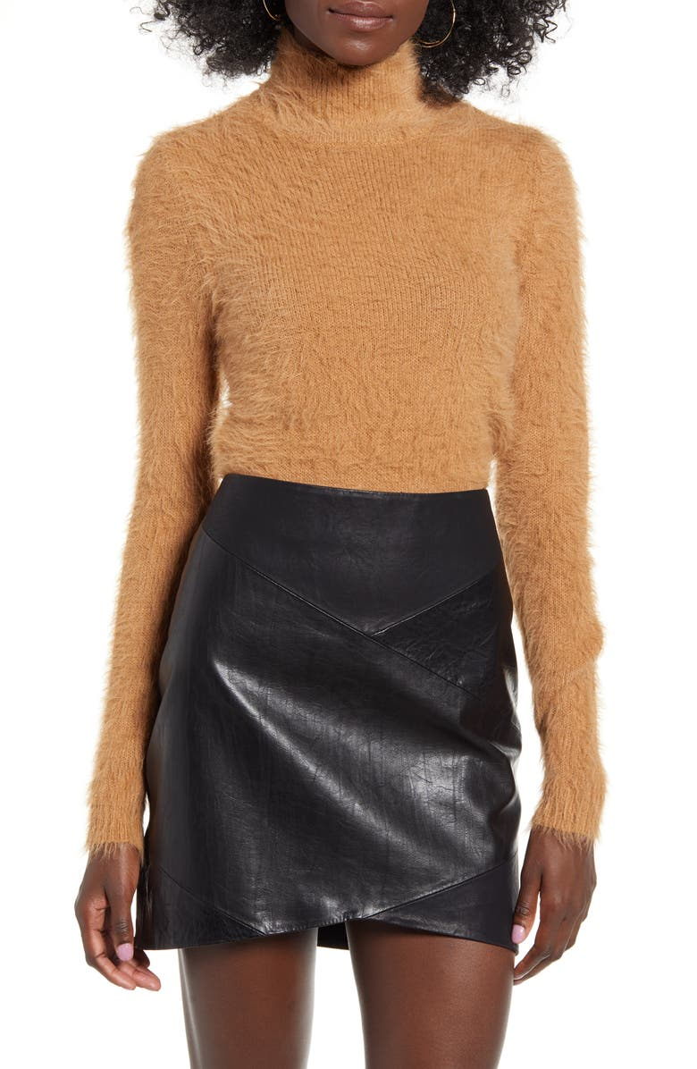 VERO MODA Poilu Eyelash Sweater, Main, color, 212