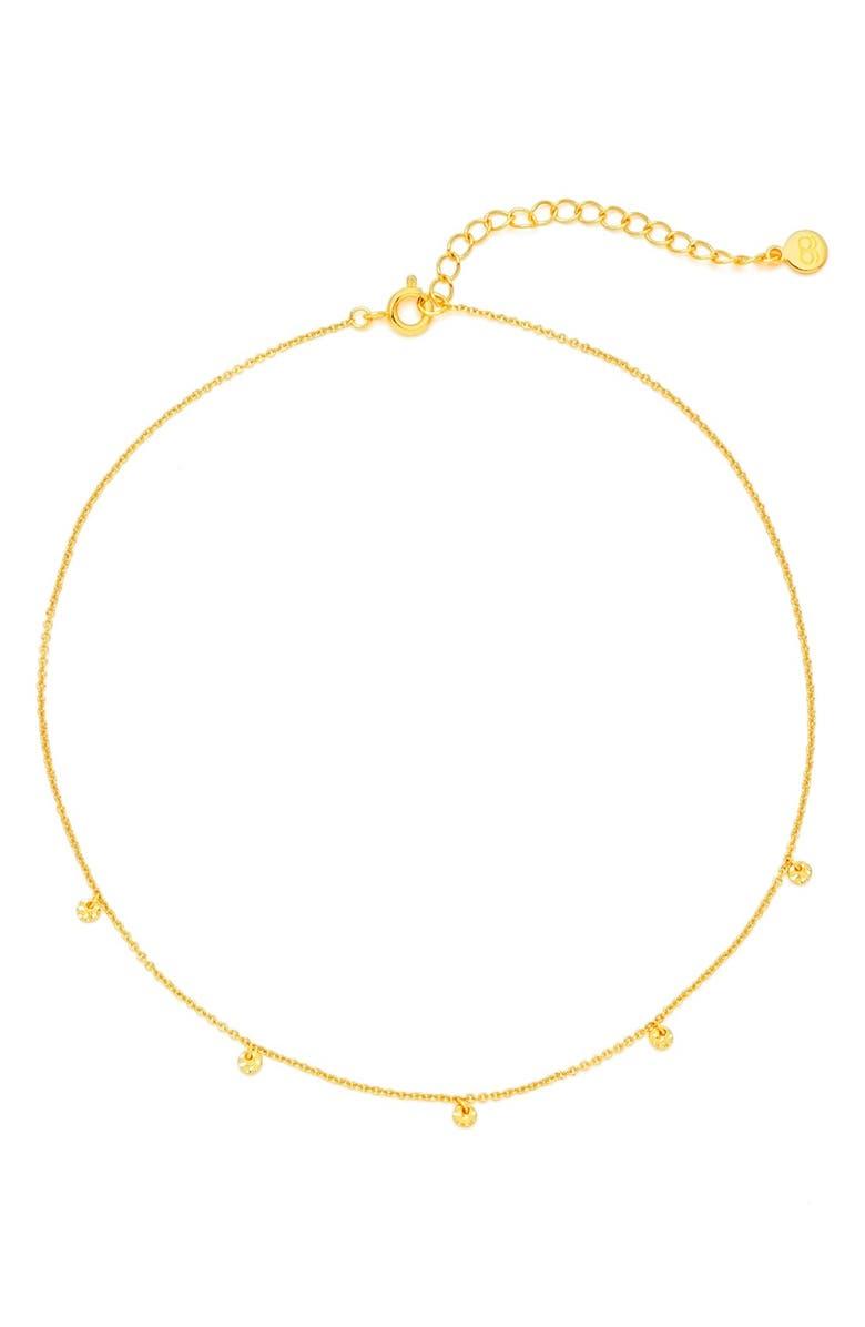 GORJANA Charm Choker Necklace, Main, color, GOLD