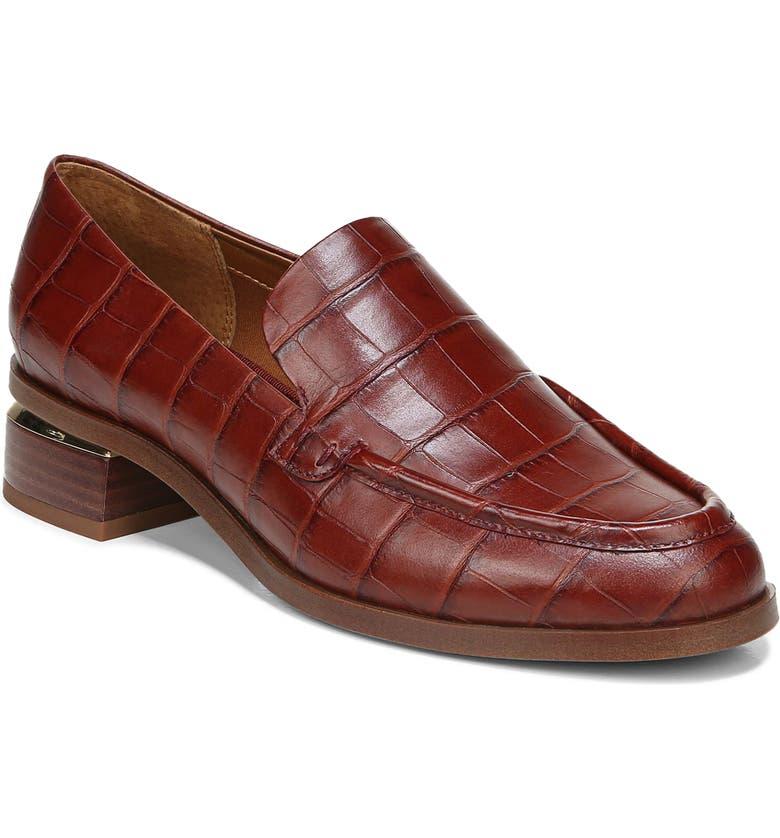 FRANCO SARTO Newbocca Loafer, Main, color, RUST LEATHER