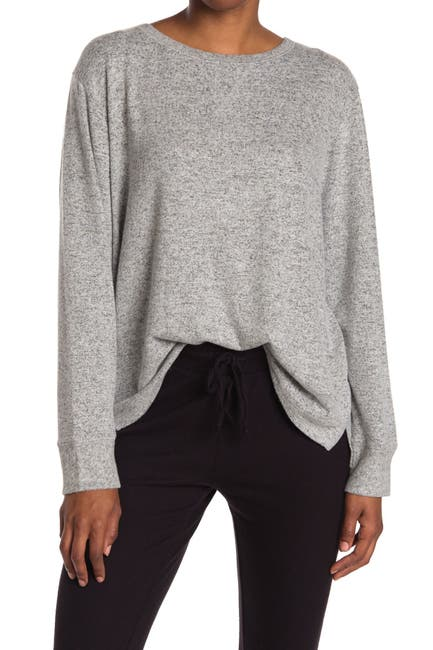 Image of Free Press Hacci Knit Lounge Pullover