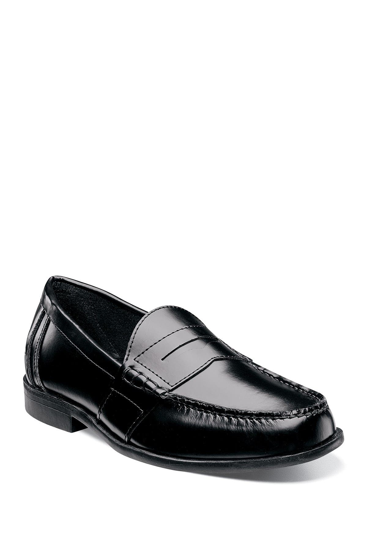Image of NUNN BUSH Kent Moc Toe Penny Loafer - Wide Width Available