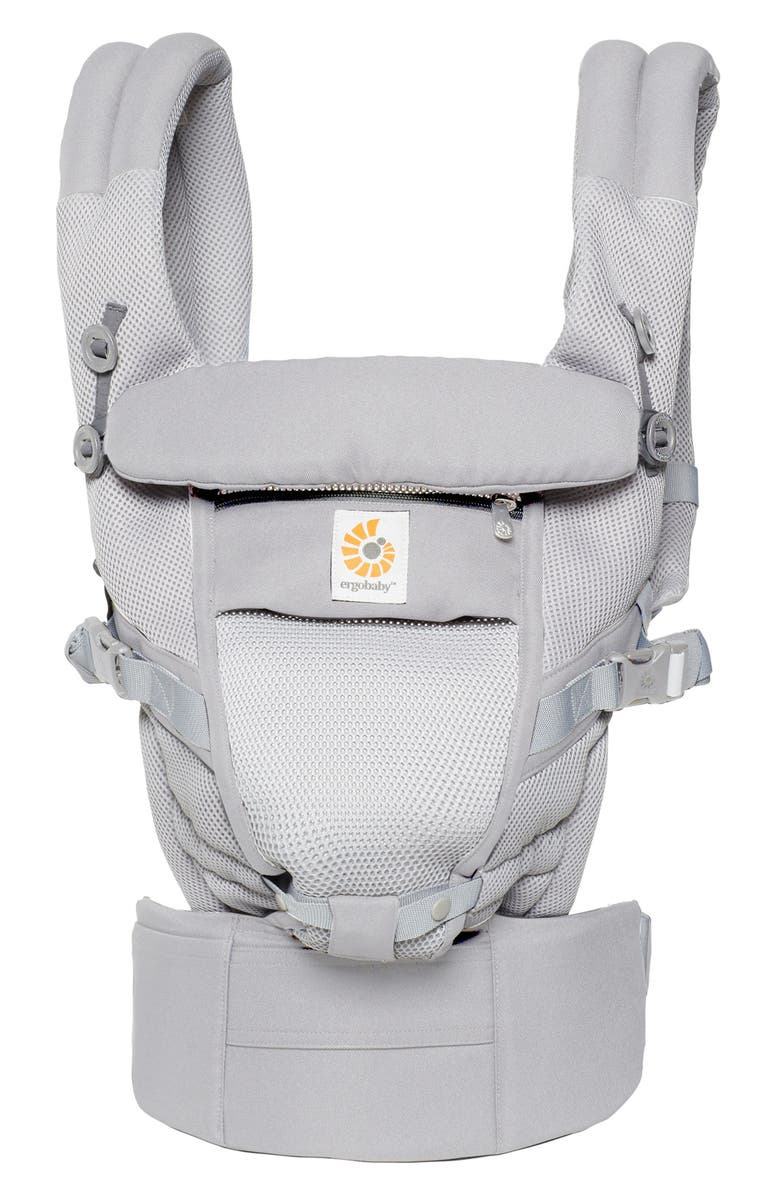 ERGOBABY Three Position ADAPT Baby Carrier, Main, color, PEARL GREY