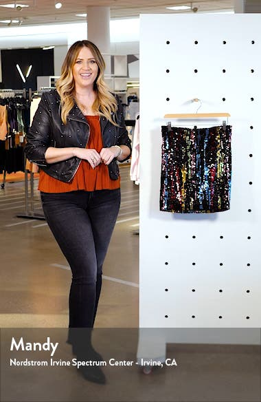 Dean Sequin Skirt, sales video thumbnail