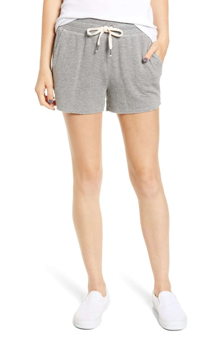 SPLENDID Active Shorts, Main, color, HEATHER GREY