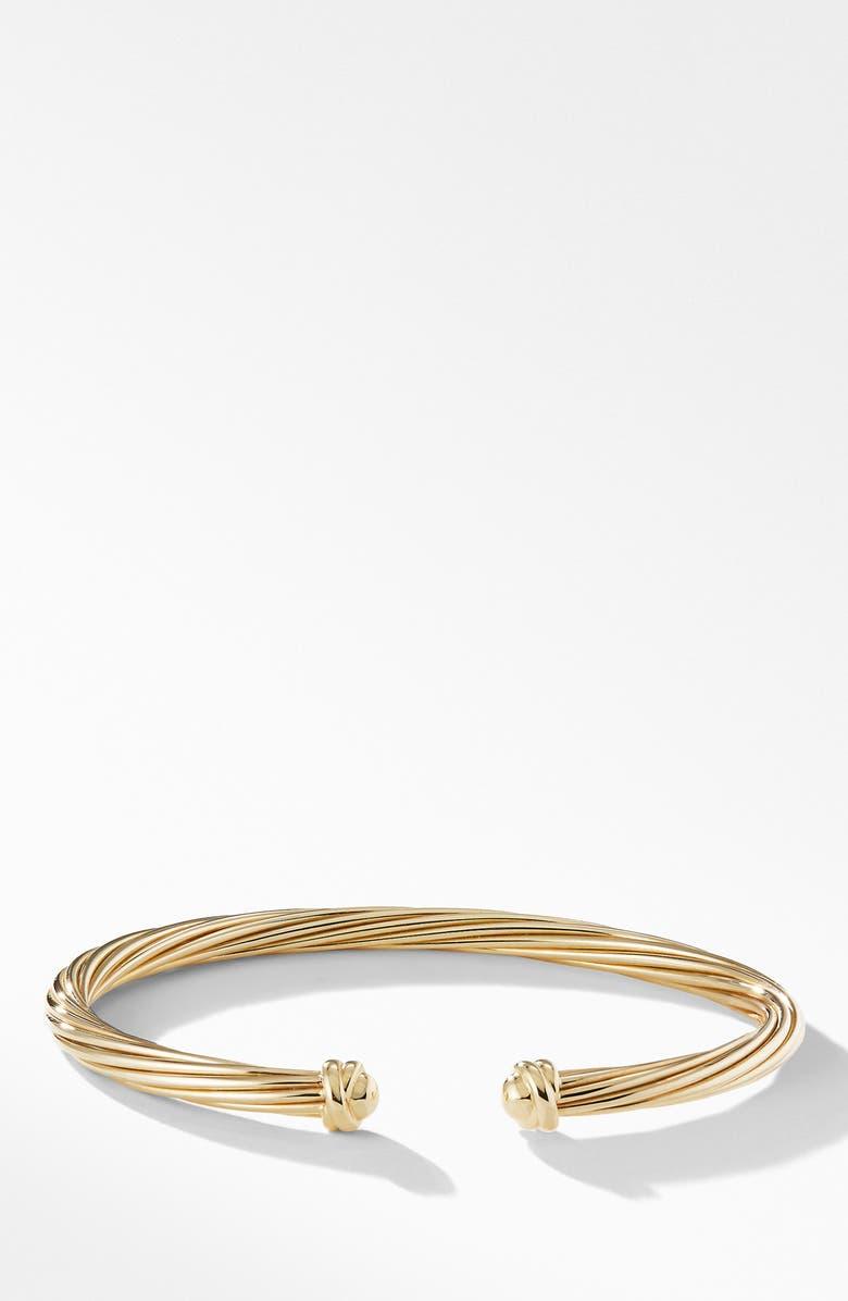 DAVID YURMAN Helena Bracelet in 18K Yellow Gold, Main, color, GOLD