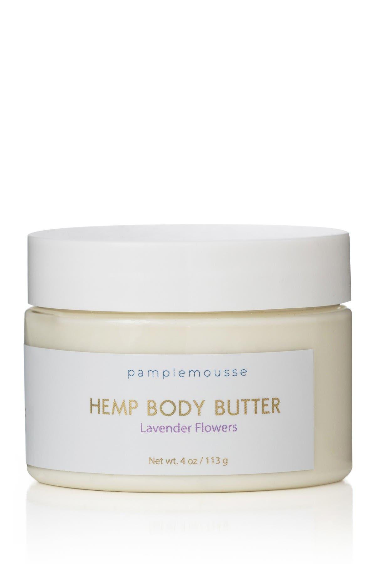 Image of Pamplemousse Hemp Body Butter - Lavender Flowers - 4 oz.