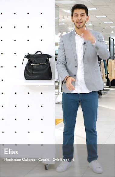 Dael Faux Leather Backpack, sales video thumbnail