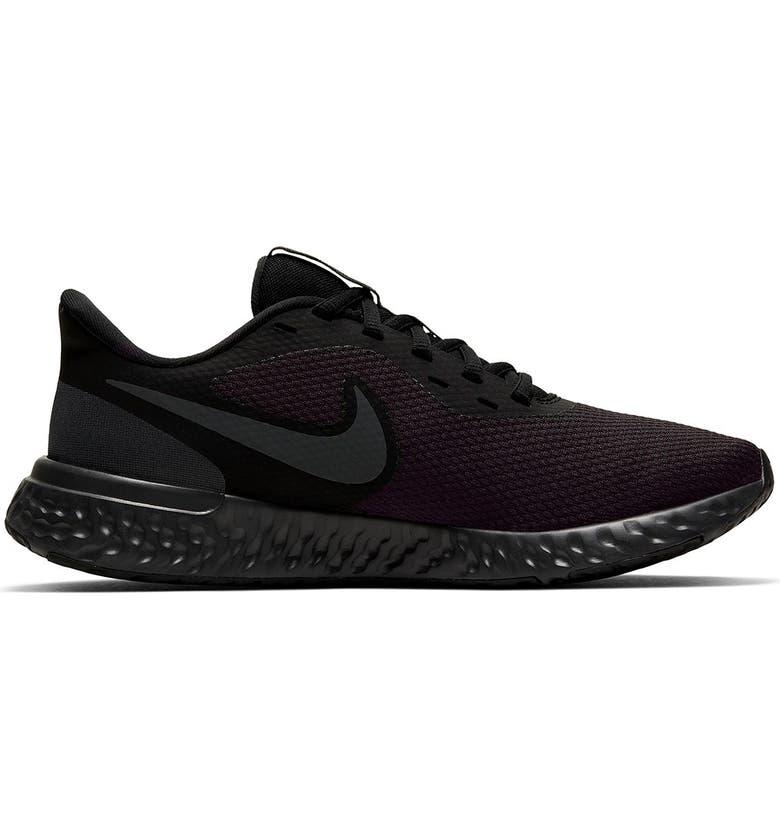 NIKE Revolution 5 Sneaker, Main, color, 001 BLACK BLACK