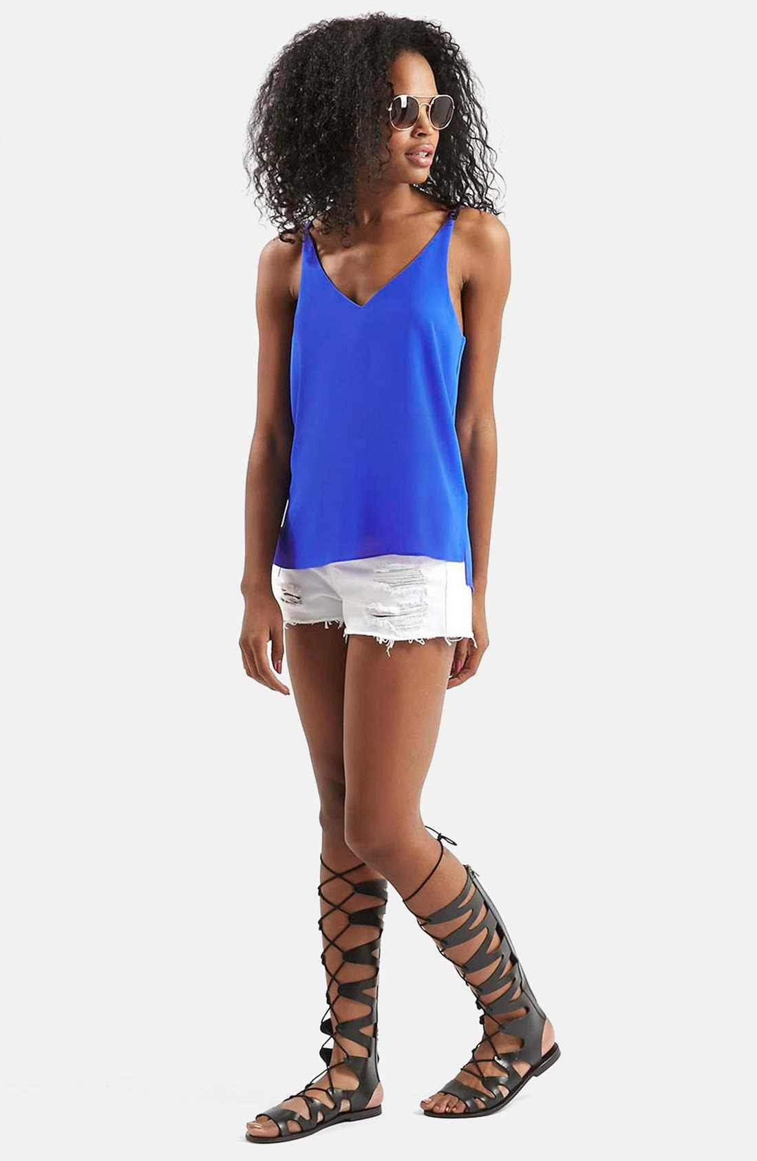 ,                             Strappy V-Neck Camisole,                             Alternate thumbnail 25, color,                             430
