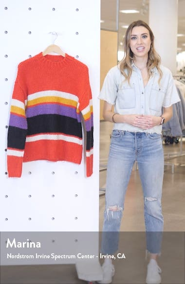 Party Stripe Sweater, sales video thumbnail