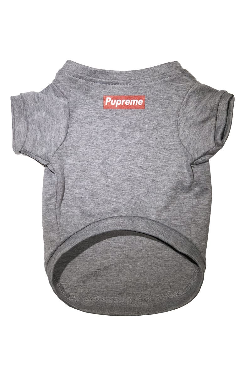 PAWMAIN Pupreme Dog Shirt, Main, color, GREY