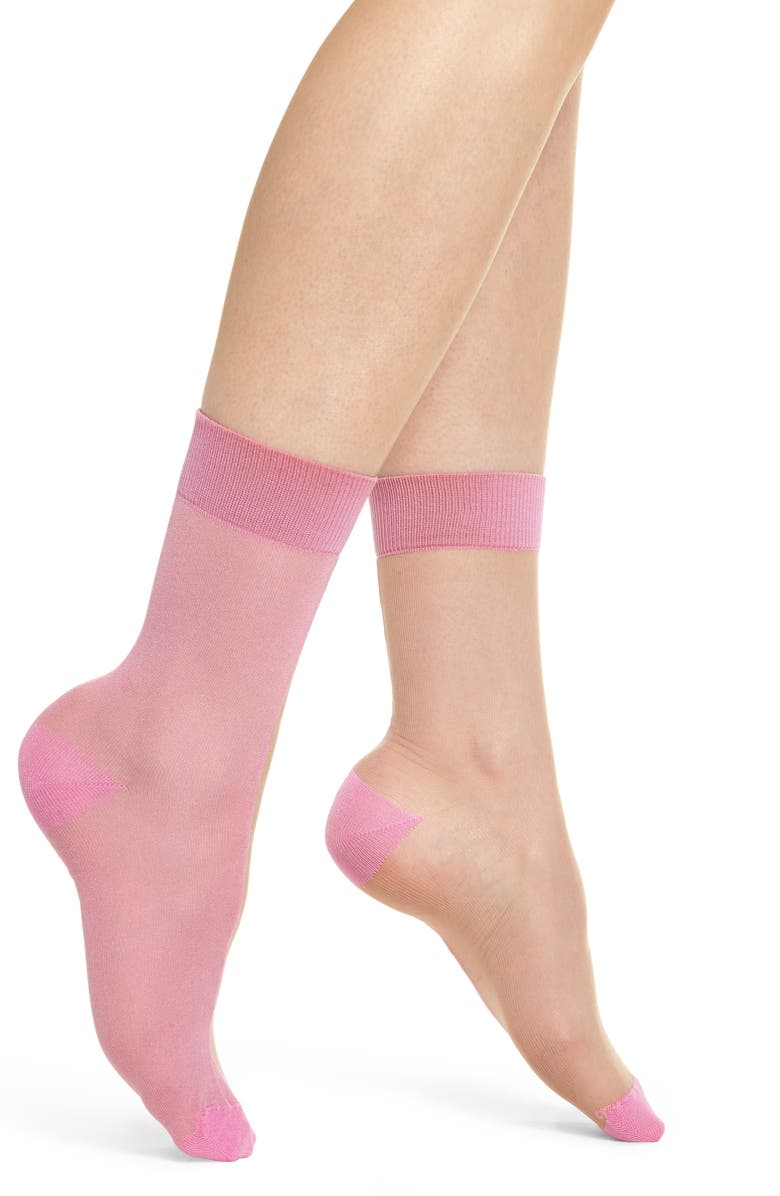 HYSTERIA BY HAPPY SOCKS Filippa Ankle Socks, Main, color, 680