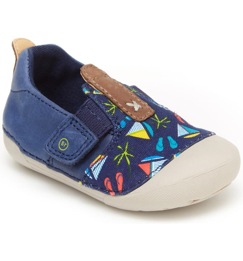 STRIDE RITE Soft Motion<sup>™</sup> Atlas Sneaker, Main, color, NAVY