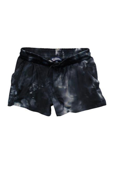 Image of Freshman Tie-Dye Velour Shorts