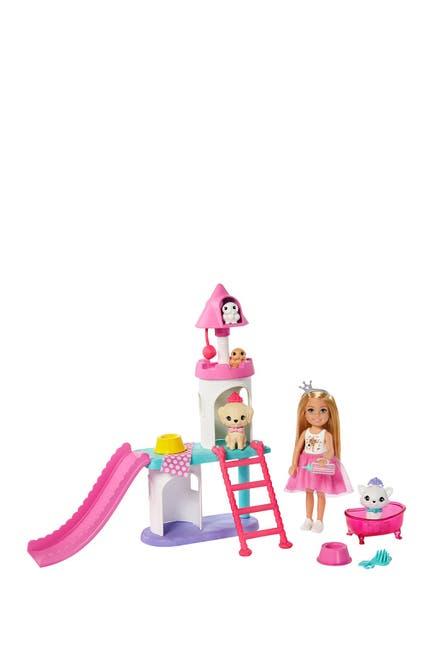 Image of Mattel ?Barbie® Princess Adventure™ Chelsea™ Pet Castle Playset, with Blonde Chelsea™