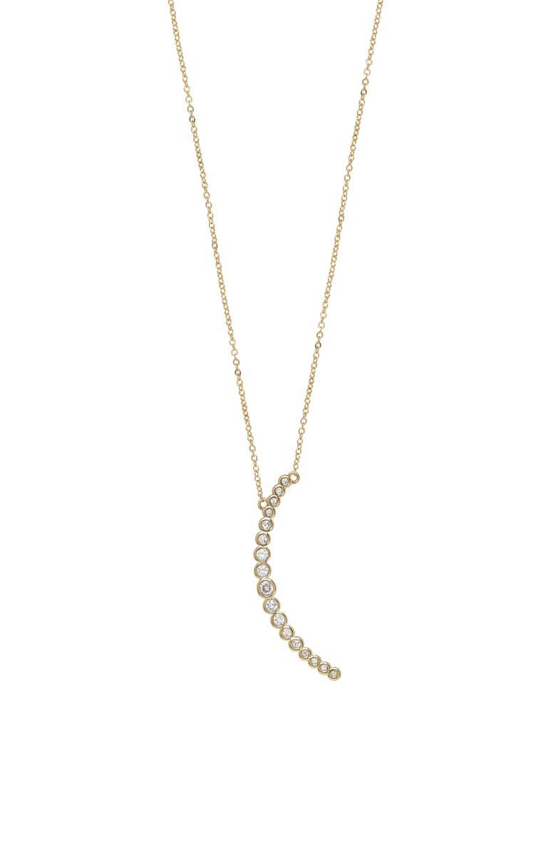 ETTIKA Crystal Crescent Pendant Necklace, Main, color, 710