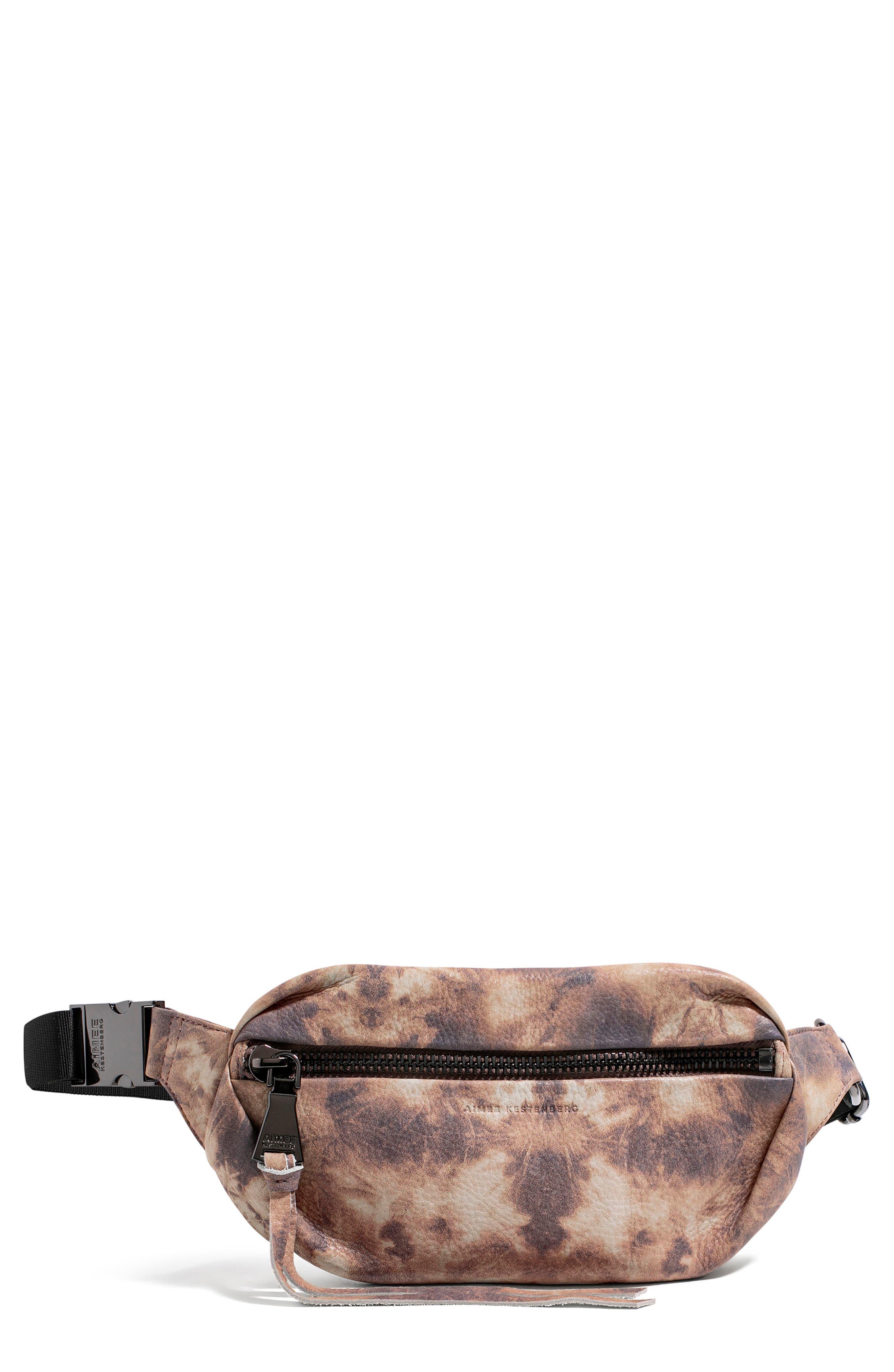 Milan Leather Belt Bag