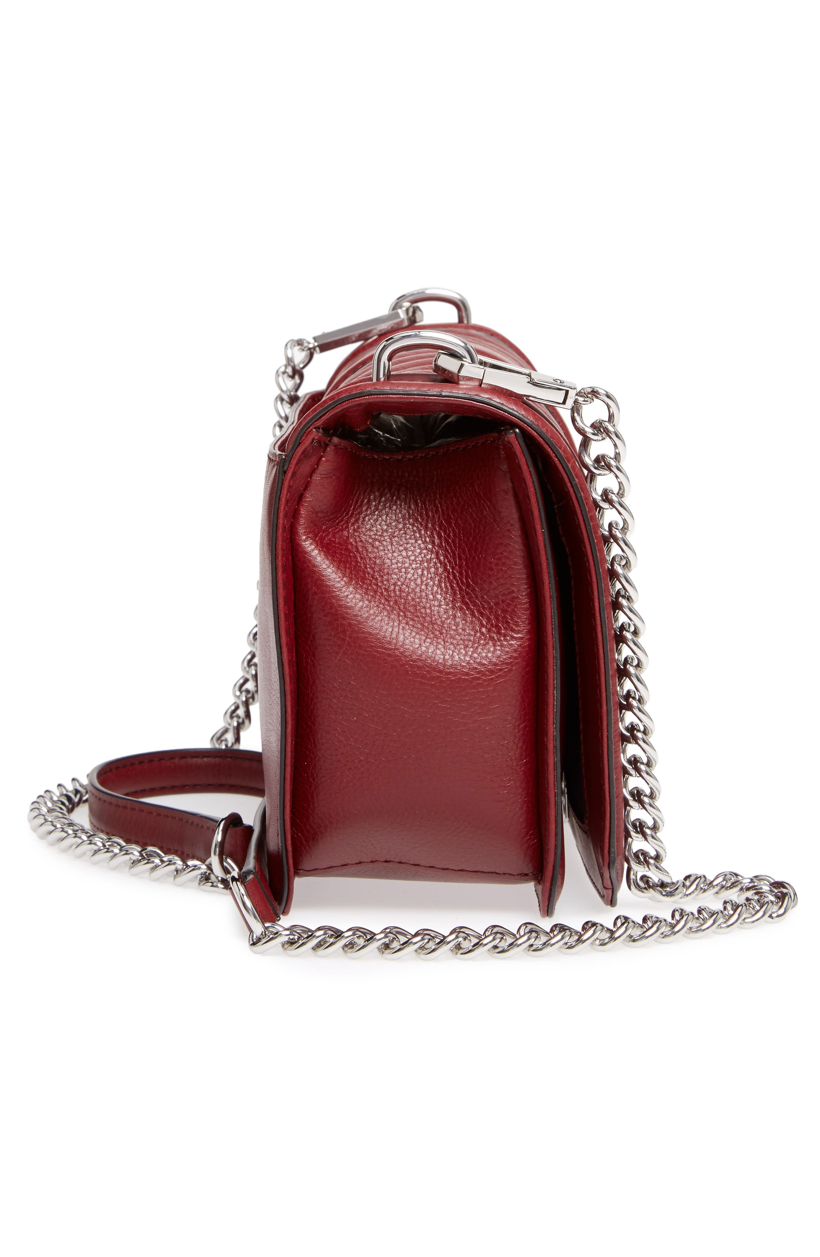 ,                             Love Leather Crossbody Bag,                             Alternate thumbnail 14, color,                             605