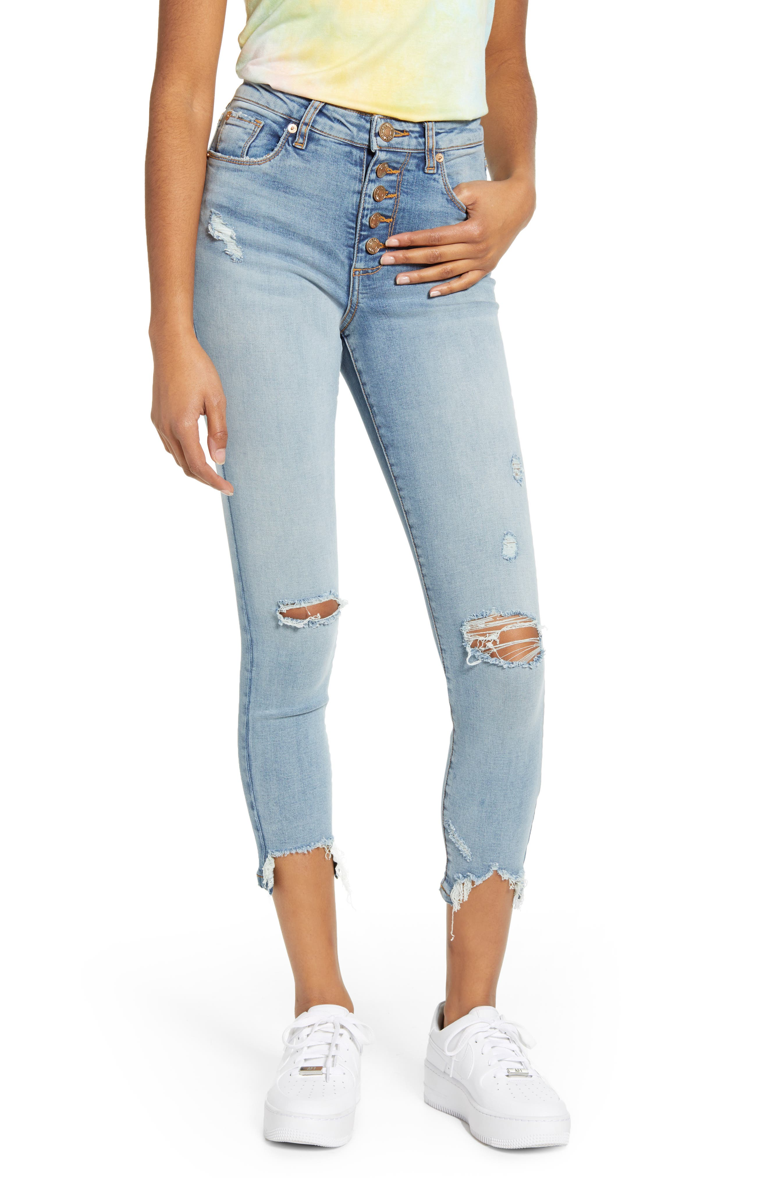 Image of STS BLUE Ellie High Rise Distressed Jeans