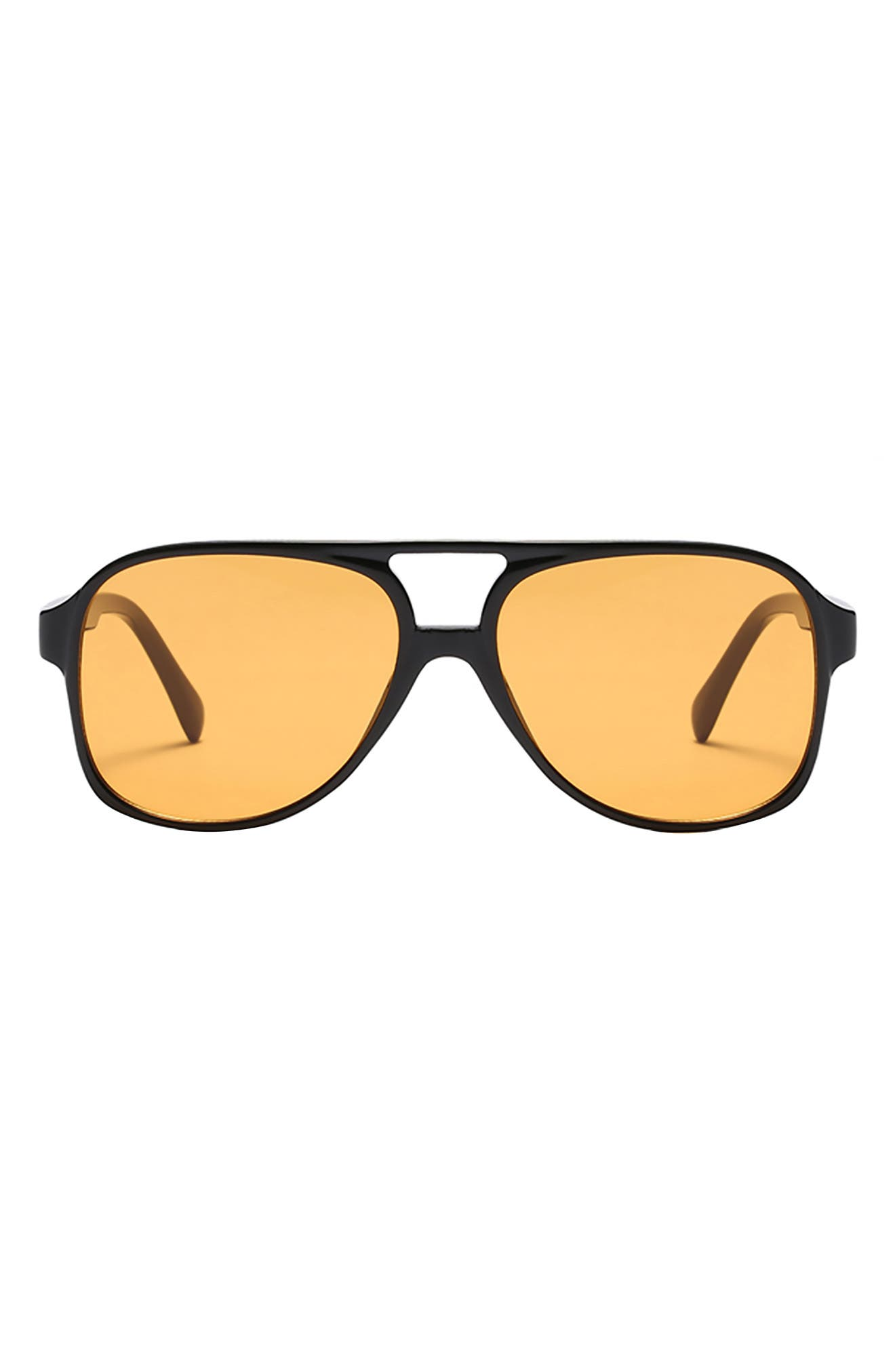 Kingston 60mm Aviator Sunglasses