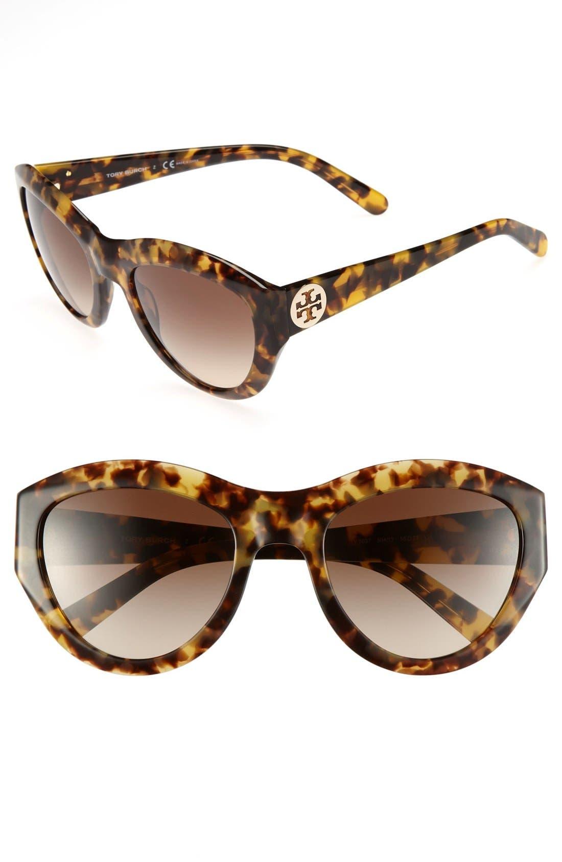 ,                             55mm Retro Sunglasses,                             Main thumbnail 2, color,                             200