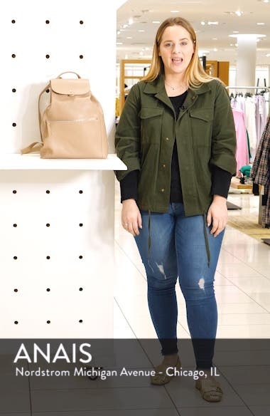 Leather Backpack, sales video thumbnail