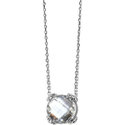 Anzie Dew Drop Cluster Topaz Pendant Necklace