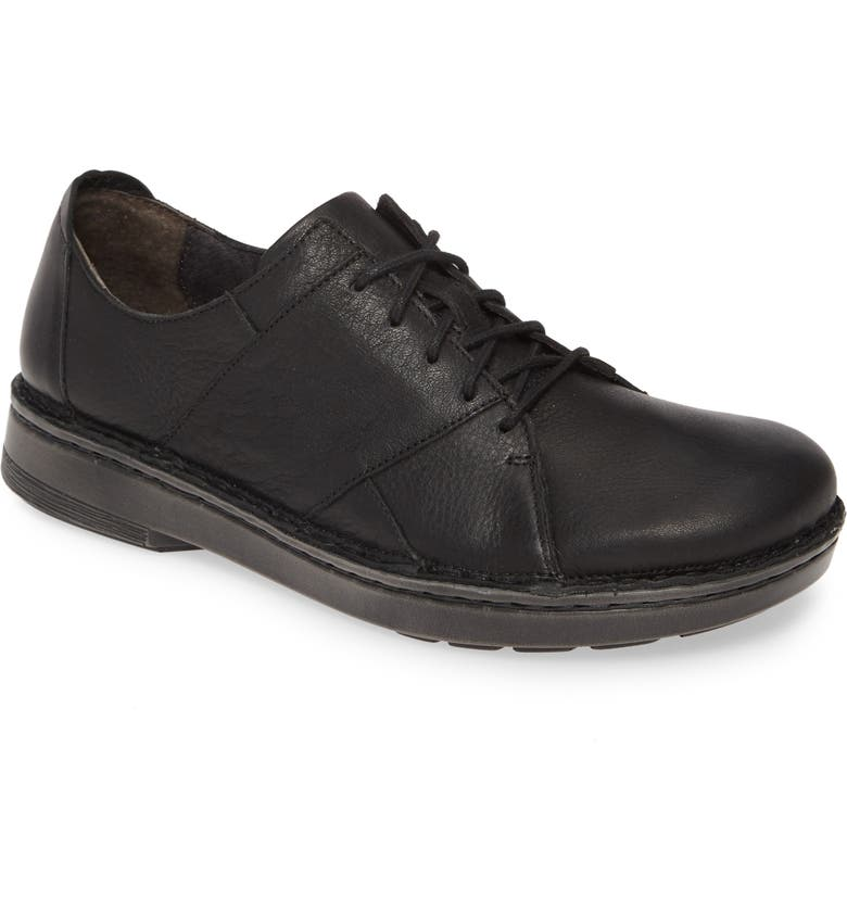NAOT Segovia Derby, Main, color, BLACK LEATHER