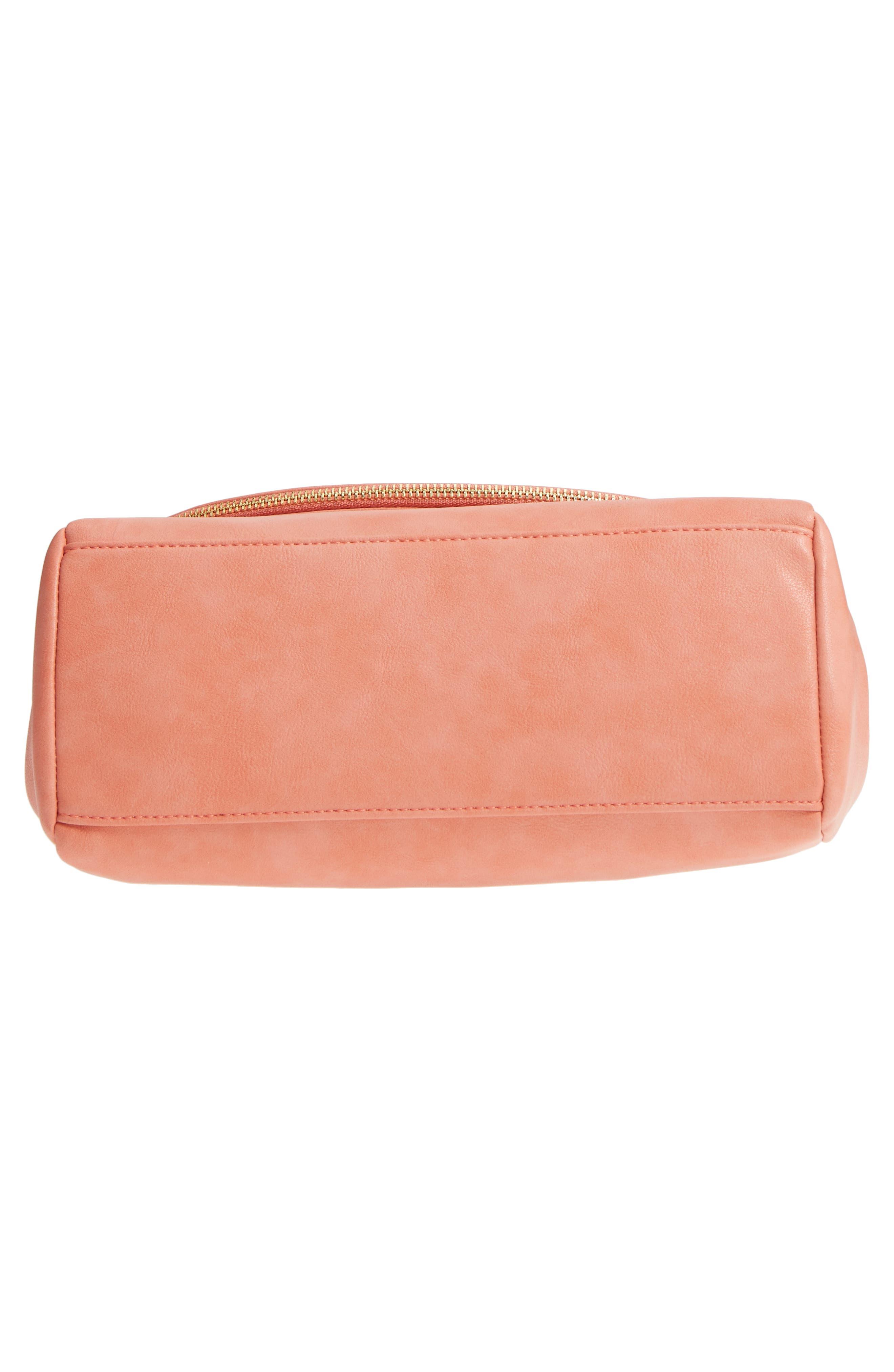 ,                             Top Handle Faux Leather Crossbody Bag,                             Alternate thumbnail 24, color,                             950