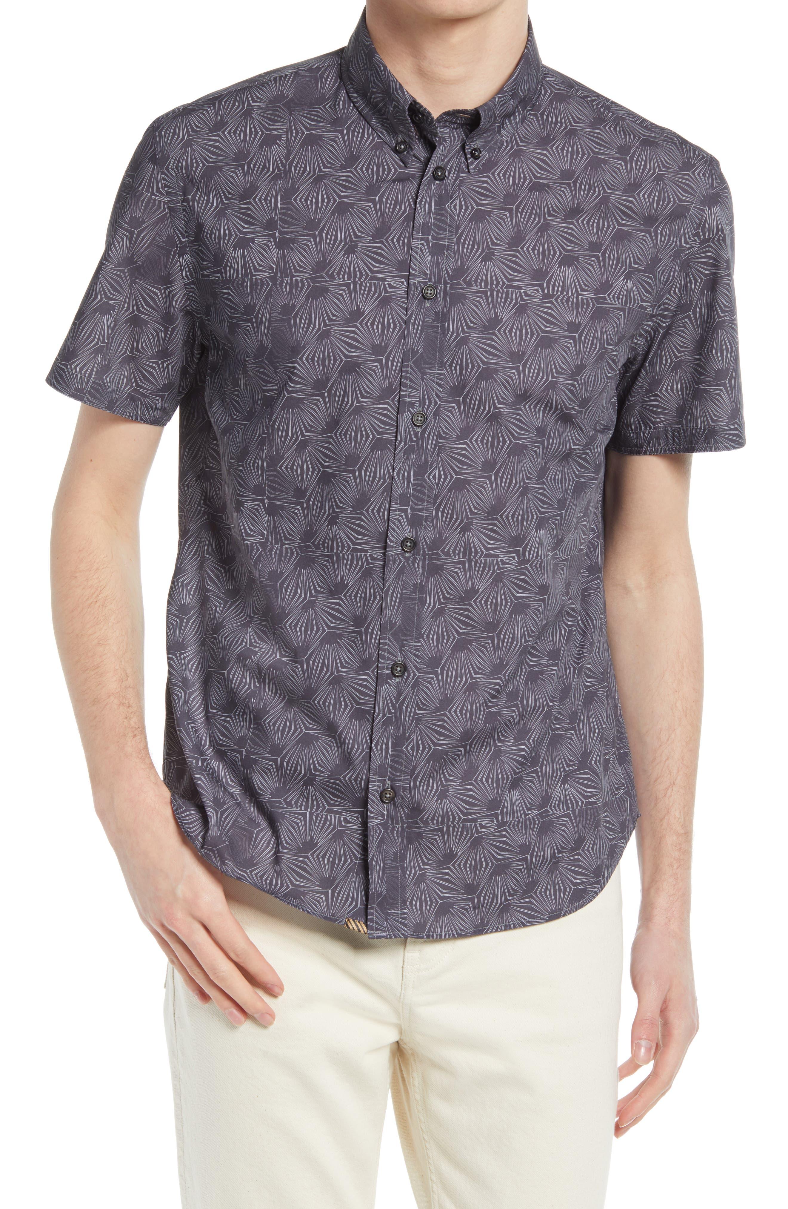 Murphy Print Short Sleeve Button-Down Shirt