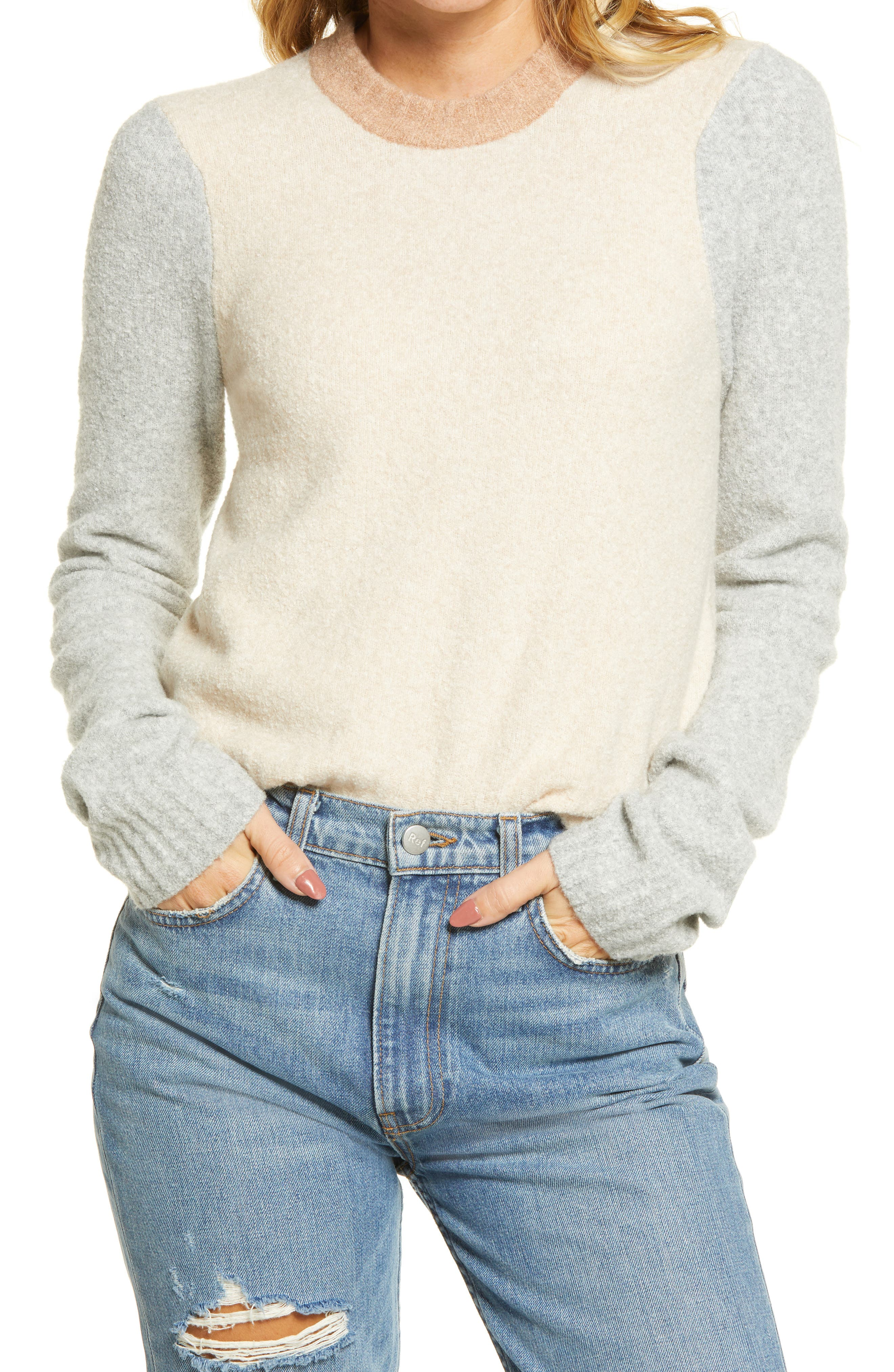 Image of FAHERTY BRAND Summit Colorblock Sweater