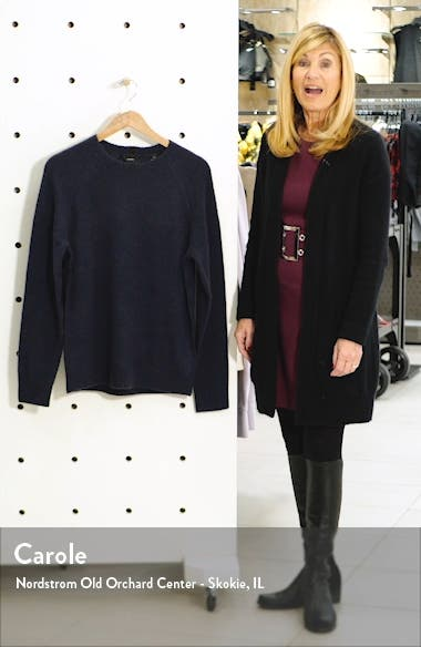 Classic Merino Wool & Yak Crewneck Sweatshirt, sales video thumbnail