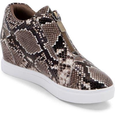 Blondo Glenda Waterproof Sneaker Bootie- Brown