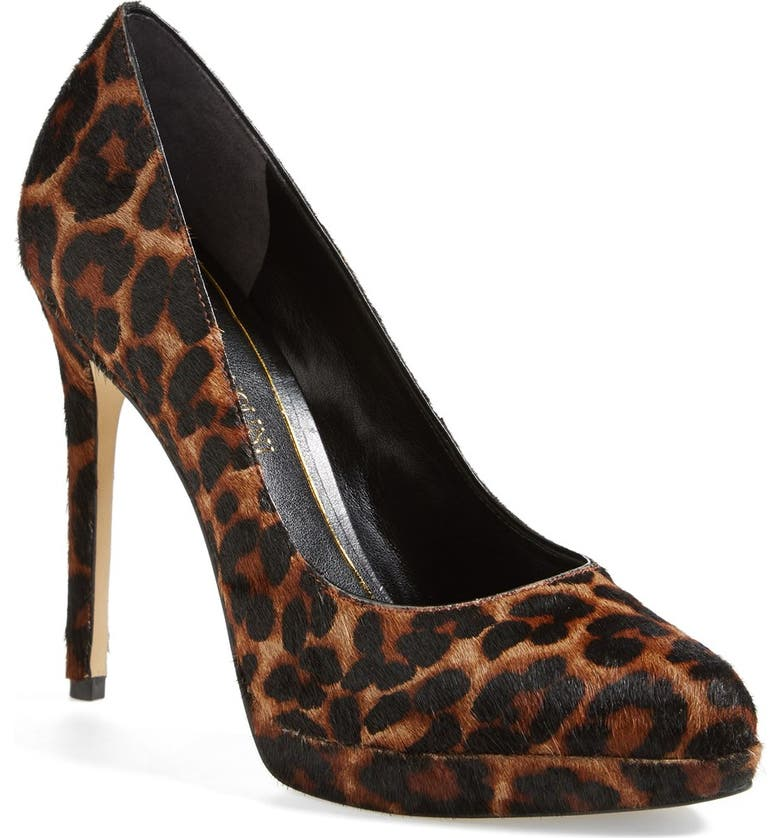 ENZO ANGIOLINI 'Samendra' Cheetah Spot Calf Hair Platform Pump, Main, color, 200