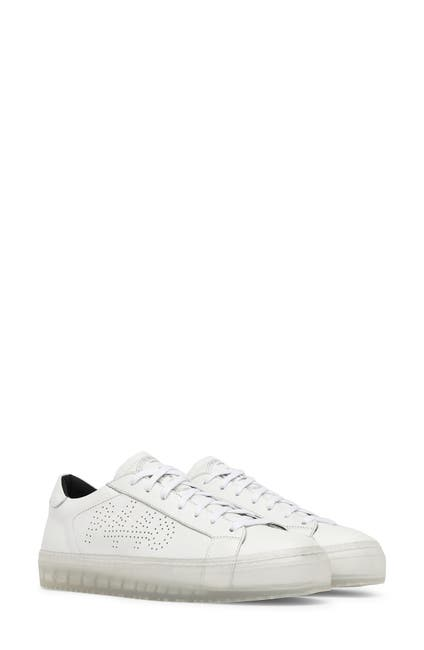 Image of P448 John L. Leather Low Top Sneaker