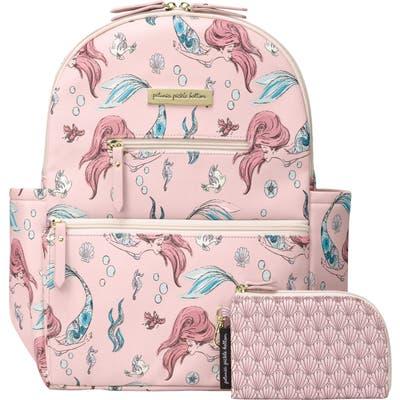 Petunia Pickle Bottom X Disney Little Mermaid Ace Diaper Bag Backpack -