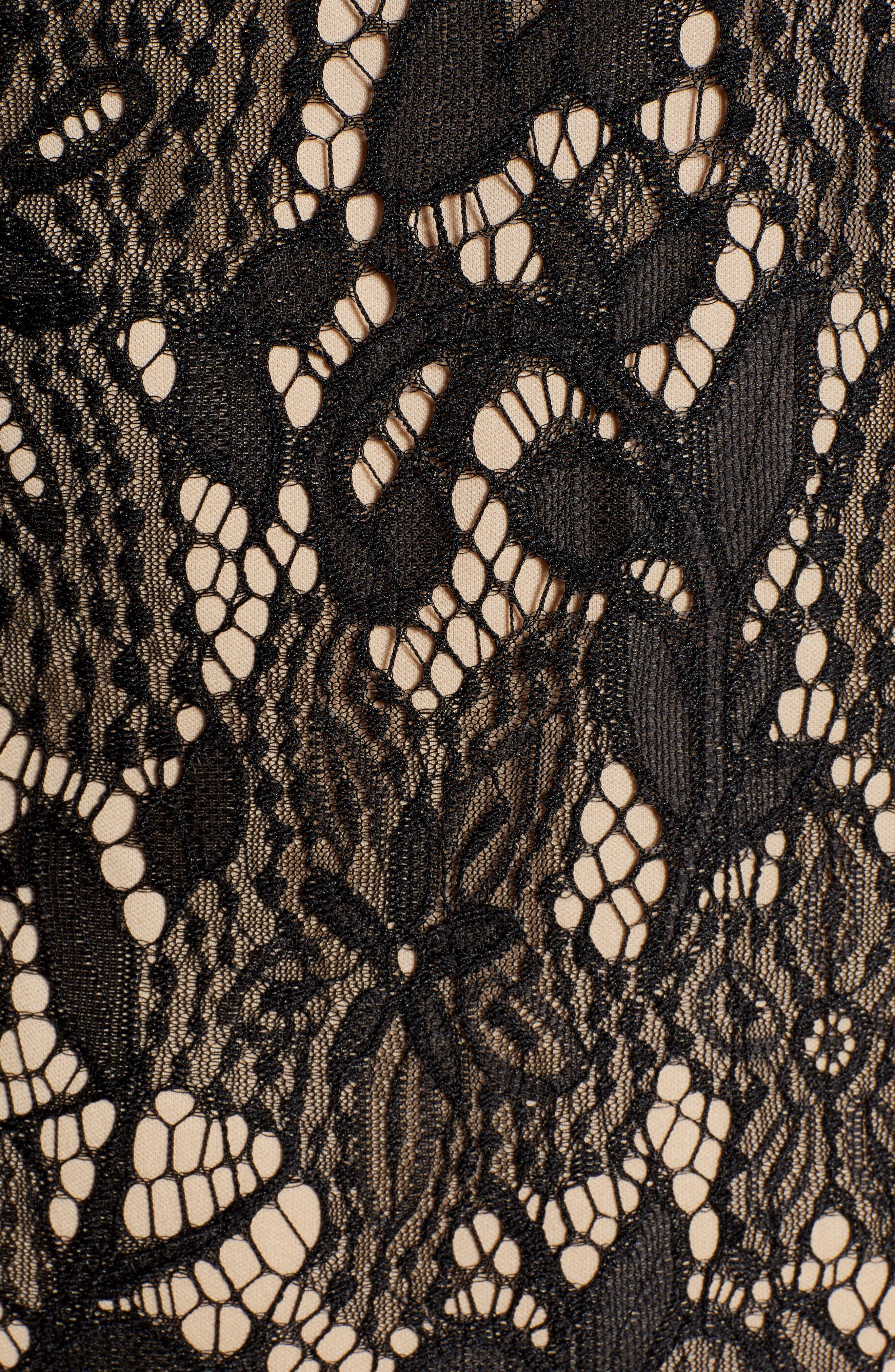 ,                             Scallop Lace Dress,                             Alternate thumbnail 7, color,                             001
