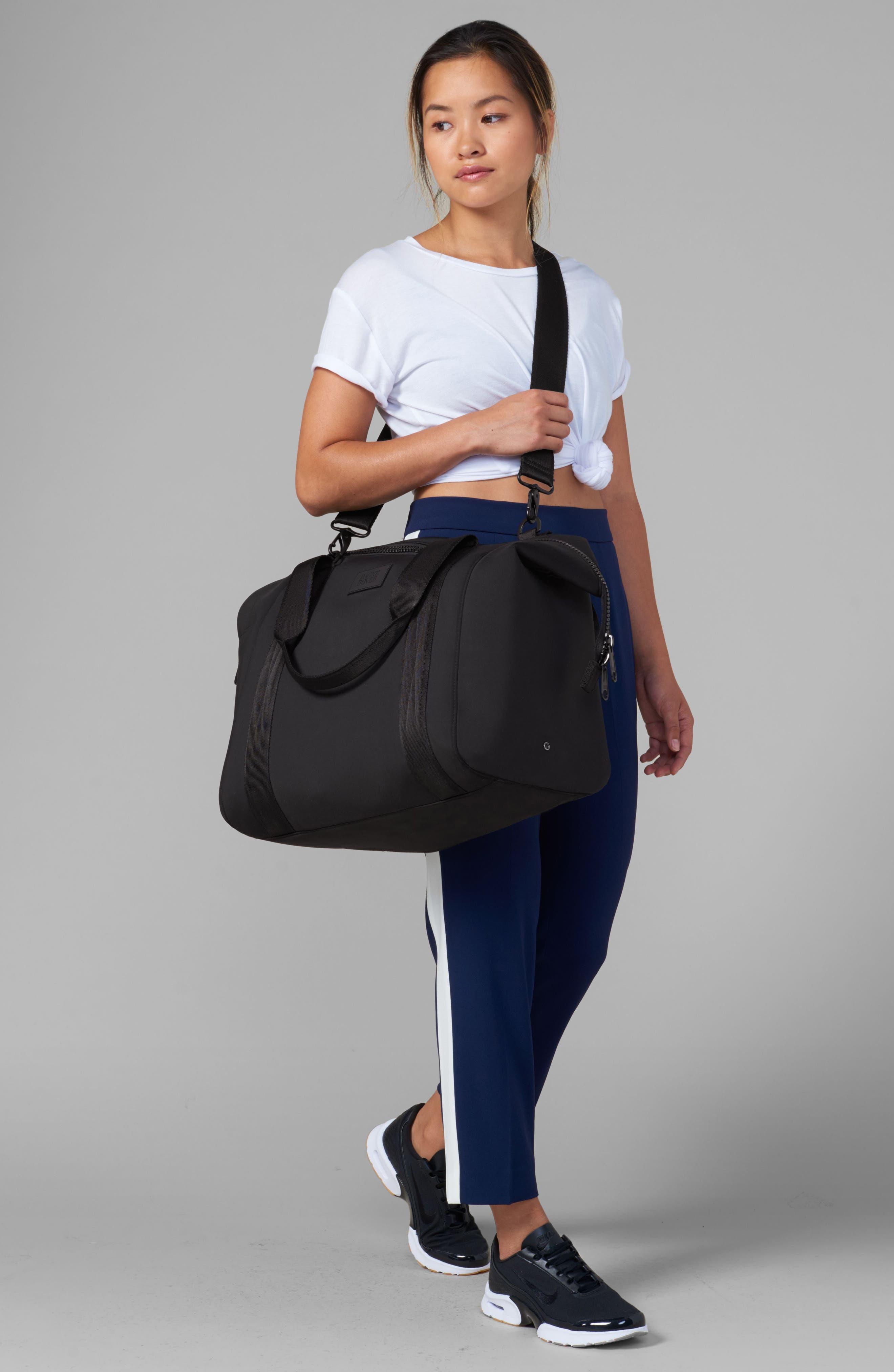 ,                             365 Large Landon Neoprene Carryall Duffle Bag,                             Alternate thumbnail 6, color,                             DARK MOSS