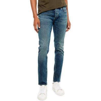 Topman Skinny Fit Jeans, Blue