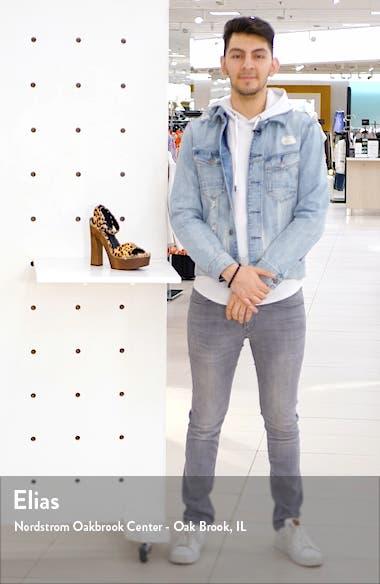 Faria Platform Sandal, sales video thumbnail