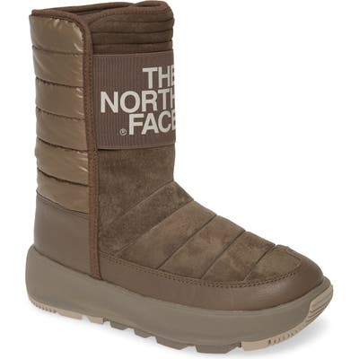 The North Face Ozone Park Waterproof Boot, Brown