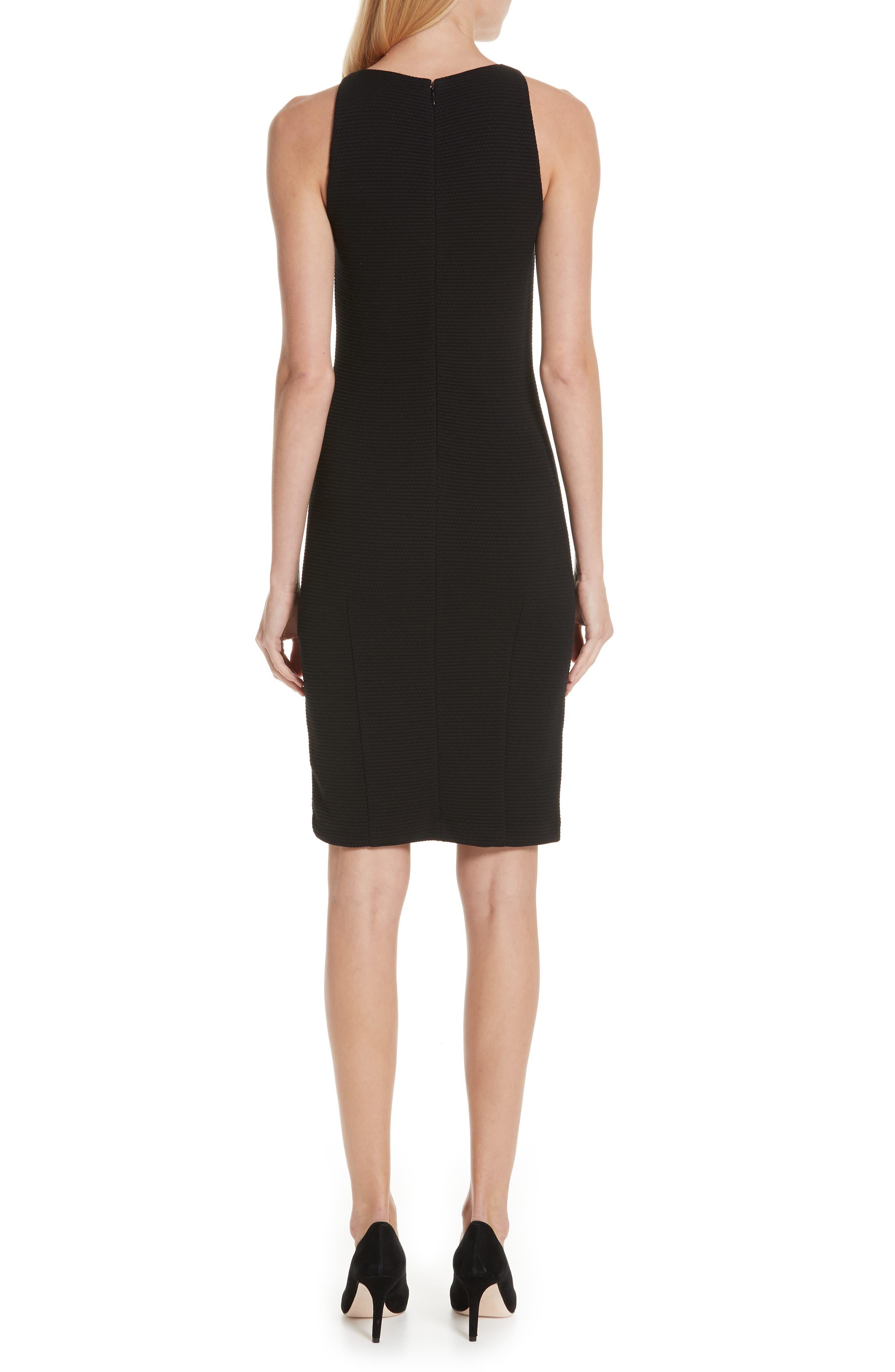 ,                             Sleeveless Sheath Dress,                             Alternate thumbnail 2, color,                             001
