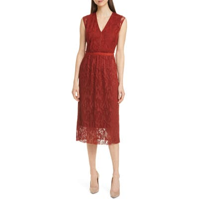 Boss Damune Embroidered Dress, None