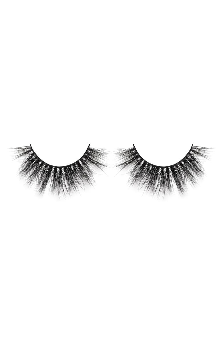 LILLY LASHES Hollywood 3D Mink False Lashes, Main, color, NO COLOR