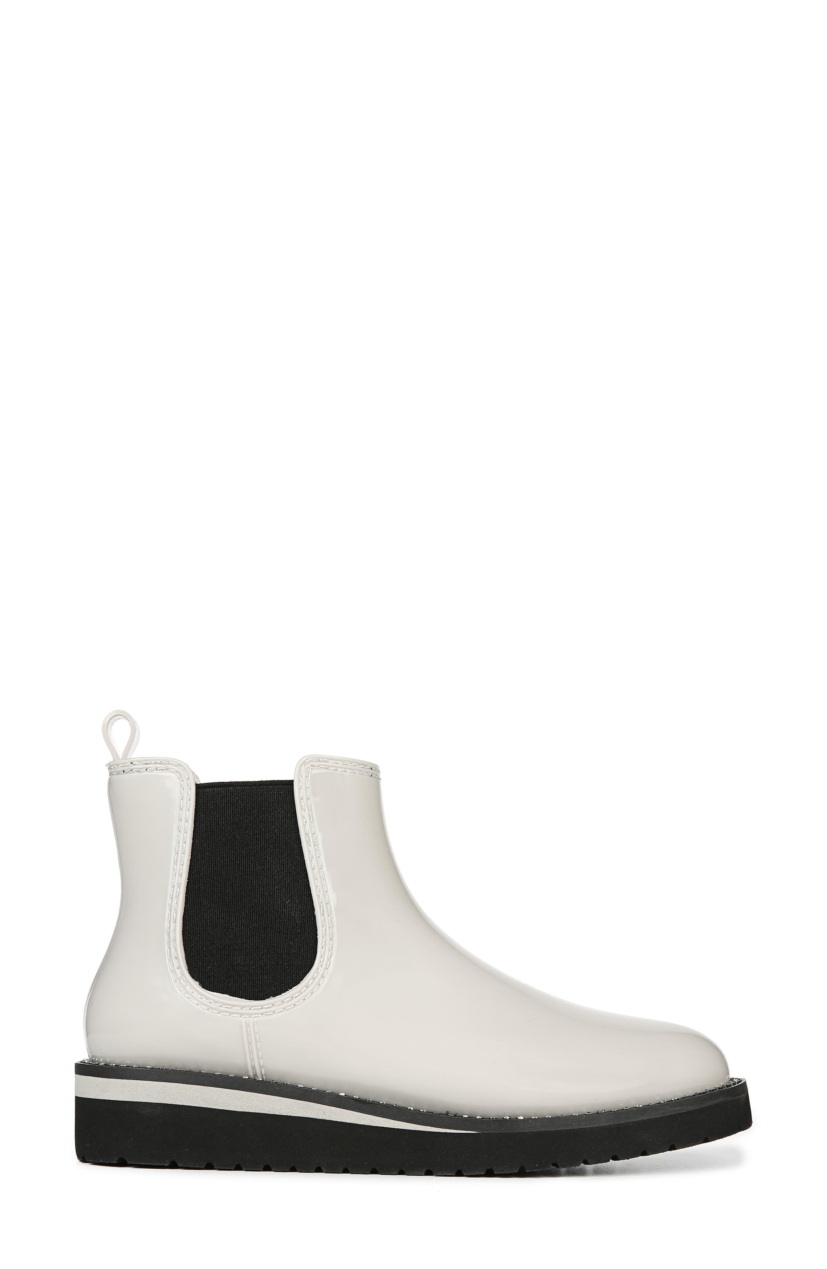 ,                             Luna Waterproof Chelsea Boot,                             Alternate thumbnail 3, color,                             CREAM